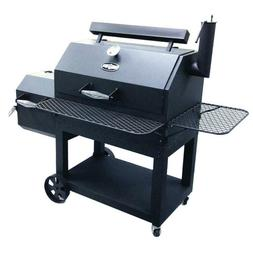 Kingsford Stockade 49 in. Charcoal Smoker and Grill Dark Gre