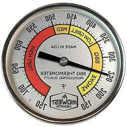 Midwest Hearth Thermometer for Kamado Style Charcoal Grills