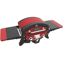 """20"""" Vector 3-Burner Propane Gas Grill Tabletop with Smoke Tr"""