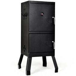 vertical charcoal smoker bbq barbecue grill w