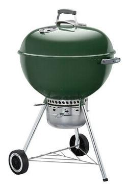 Weber  Original Premium  22 in. W Green  Kettle Grill  Charc