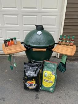 big green egg xl size charcoal grill, + a lot accsesories